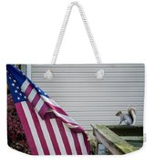 I Pledge Allegiance Weekender Tote Bag by Brian Wallace