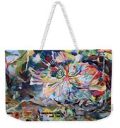 I Pray Before The Strong Exalted G D Who Commanded A Spider To Close Off The Face Of The Cave For Me Weekender Tote Bag