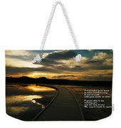 I Remember Your Hand Weekender Tote Bag by Jeff Swan