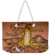 I Survived The Historic Pow Wow Weekender Tote Bag