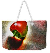 I Vote For A Really Hot Sweet Pepper Weekender Tote Bag