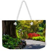 I Walk Through The Garden Alone Weekender Tote Bag