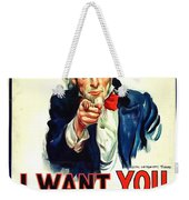 I Want You For U S Army Weekender Tote Bag