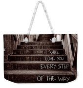 I Will Love You Weekender Tote Bag by Bob Orsillo
