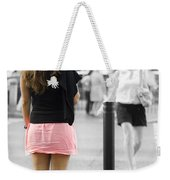 I Would Rather Wait For The Green Light Weekender Tote Bag