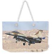 Iaf F-16c Jet Fighter Weekender Tote Bag