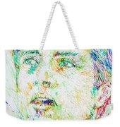 Ian Curtis Portrait Weekender Tote Bag