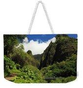 Iao Needle - Iao Valley Weekender Tote Bag