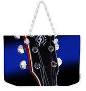 Ibanez Af75 Electric Hollowbody Guitar Headstock Weekender Tote Bag