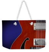 Ibanez Af75 Hollowbody Electric Guitar Front View Weekender Tote Bag