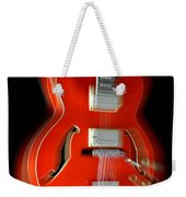 Ibanez Af75 Hollowbody Electric Guitar Zoom Weekender Tote Bag