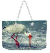 Ibis Feeding Weekender Tote Bag