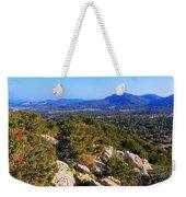 Ibiza Mountains Weekender Tote Bag