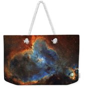 Ic 1805, The Heart Nebula In Cassiopeia Weekender Tote Bag