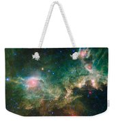 Ic 2177-seagull Nebula Weekender Tote Bag by Science Source