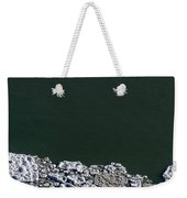 Ice Abstract 10 Weekender Tote Bag