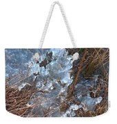 Ice Abstract Weekender Tote Bag