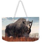 Ice Age Rhino Weekender Tote Bag