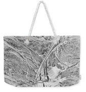 Ice Along Merced 1 Weekender Tote Bag