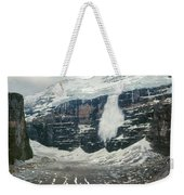 1m3545-01-ice Avalanche On Mt. Victoria Weekender Tote Bag