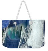 Ice Berg Up Close And Personal Weekender Tote Bag
