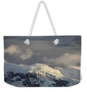 Ice-capped Mountains Anvers Island Weekender Tote Bag