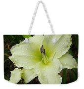 Ice Carnival Daylily Weekender Tote Bag