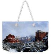 Ice Castles Weekender Tote Bag