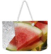 Ice Cold Watermelon Slices 1 Weekender Tote Bag