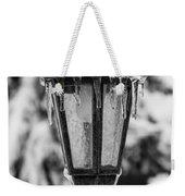 Ice Covered Lantern Weekender Tote Bag