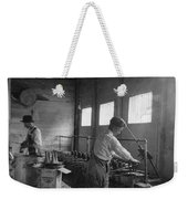 Ice Cream Cone Factory Weekender Tote Bag