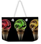 Ice Cream Cones 5 Flavors Weekender Tote Bag