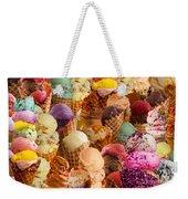 Ice Cream Crazy Weekender Tote Bag