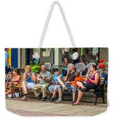 Ice Cream Eaters...an Observation Weekender Tote Bag