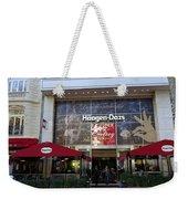 Ice Cream In Paris Weekender Tote Bag
