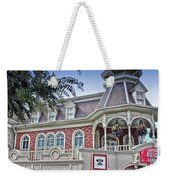 Ice Cream Parlor Main Street Walt Disney World Weekender Tote Bag