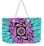 Ice Dragon Eye Weekender Tote Bag