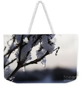 Ice Drop Weekender Tote Bag