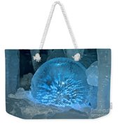 Ice Entrapment Weekender Tote Bag