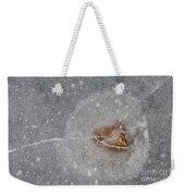 Ice Fishing Hole 10 Weekender Tote Bag