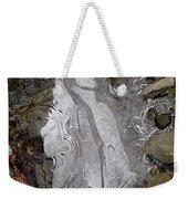 Ice Flow 2 Weekender Tote Bag