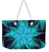 Ice Flower Weekender Tote Bag
