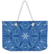 Ice Flower Fractal Weekender Tote Bag
