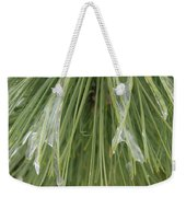 Ice Formation Weekender Tote Bag