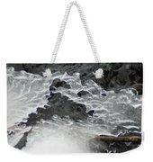 Ice Formations Viii Weekender Tote Bag