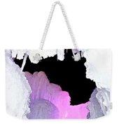 Ice Fringe Weekender Tote Bag