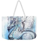 Ice Heart Weekender Tote Bag