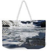 Ice In The Water Weekender Tote Bag