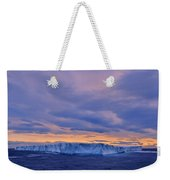Ice Island Weekender Tote Bag