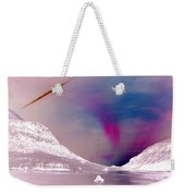 Ice Planet Weekender Tote Bag